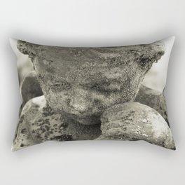Tender Memories:  Cherub photograph Rectangular Pillow