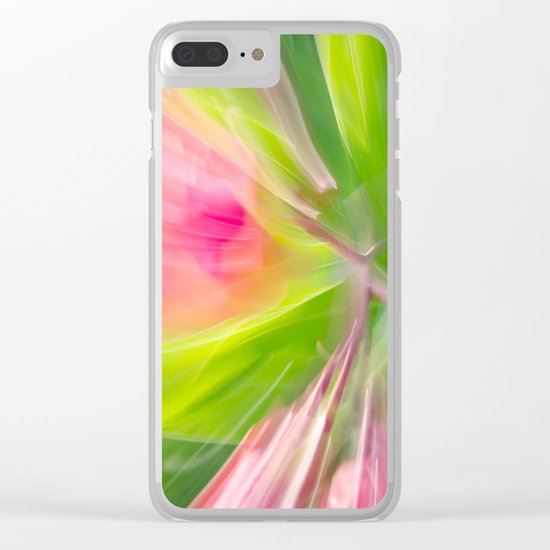 Follow the Leaf Clear iPhone Case