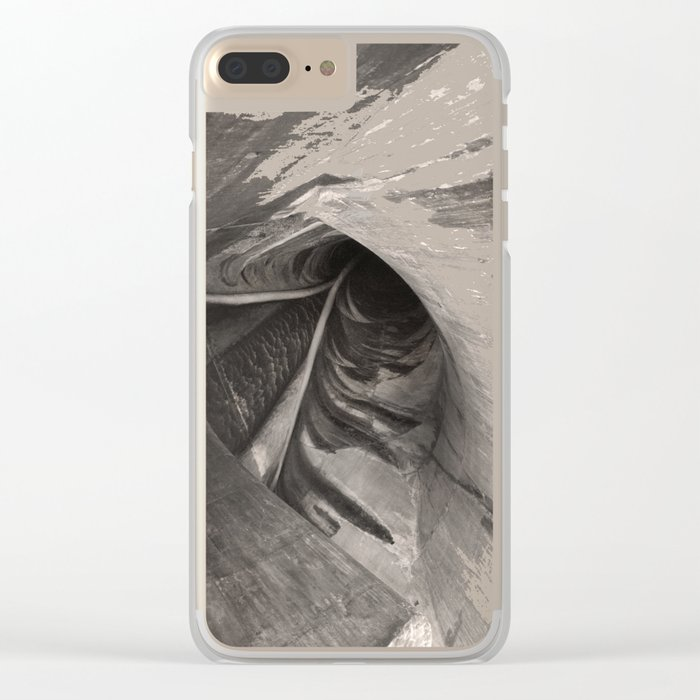 Dam Reticulation - the Void Clear iPhone Case