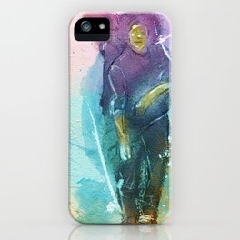 Ink In Motion iPhone Case
