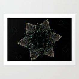 Lights Within a Star Art Print