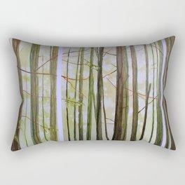 Botanical Allegory Rectangular Pillow