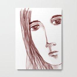 Sketch #13 Metal Print