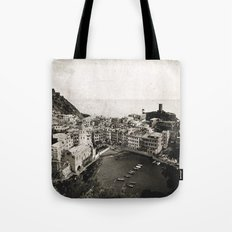 vernazza {b&w Tote Bag