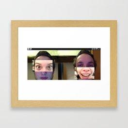 WOW2 Framed Art Print