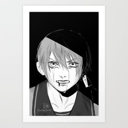 Real Ciel Phantomhive: At least… I am all I can offer. Art Print