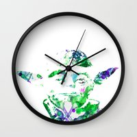 yoda Wall Clocks featuring Yoda by NKlein Design