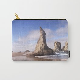 Wizard's Hat at Bandon Beach, Oregon Carry-All Pouch