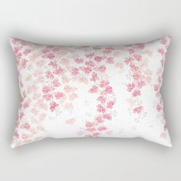 Bougainvillea Floral Vines Rectangular Pillow