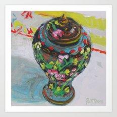 Ginger Jar Art Print