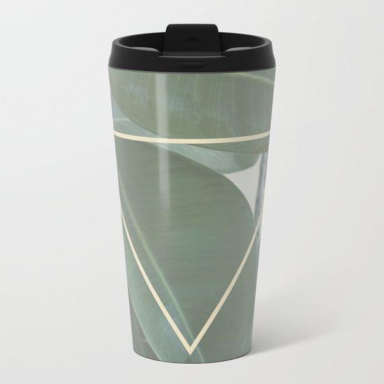 ficus nature Metal Travel Mug