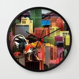 San Francisco City Chicken Wall Clock