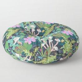 Beetle Pattern Floor Pillow