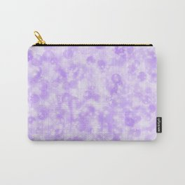 Ultra Violet & Lavender Pearls of Light Carry-All Pouch