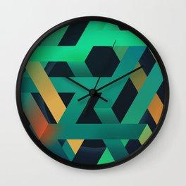 Falling Down Wall Clock