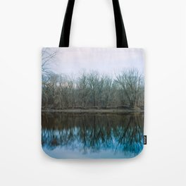 Monocacy River Reflections Tote Bag