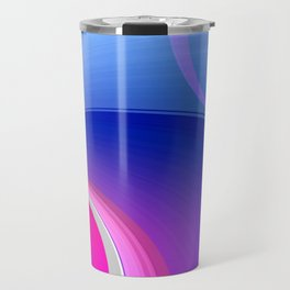 Ride the Wave (purple) Travel Mug