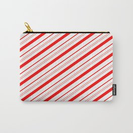 Candy Cane Stripes Carry-All Pouch