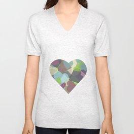 HEARTFUL Unisex V-Neck