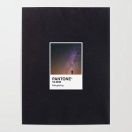 PANTONE SERIES – STARGAZING Poster