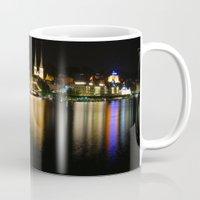 switzerland Mugs featuring Luzern, Switzerland by CSKong