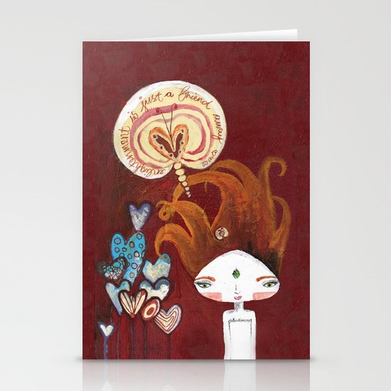 Friends-4-ever Bhoomie Stationery Cards