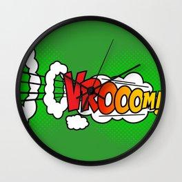 Vroom ! Wall Clock