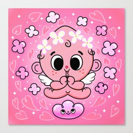 Baby Angel Canvas Print