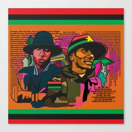 BLACKSTAR Canvas Print