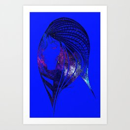 Looking to the Stars Art Print