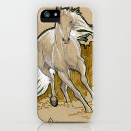 Mucha Horse iPhone Case