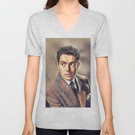 Farley Granger, Vintage Actor Unisex V-Neck
