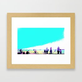 So CAL GOOD DAYS Framed Art Print