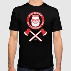 Paul Bunyan Zombie Defense Corps MEDIUM Mens Fitted Tee Black