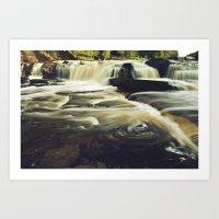 michigan Art Prints featuring Michigan by Noah Willman