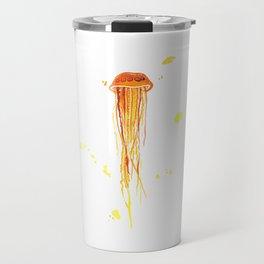 Tangerine Squishy Travel Mug