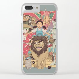 The Road to Oz Clear iPhone Case
