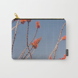 Ocotillo in Bloom Carry-All Pouch