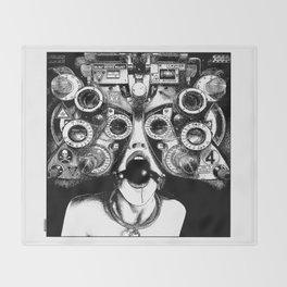 asc 712 - Le masque de la Méduse (Object woman) Throw Blanket