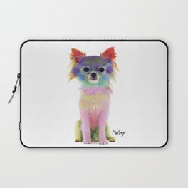 Colorful Chihuahua Laptop Sleeve