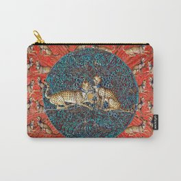 De Grassi Cheetah Pattern I Carry-All Pouch