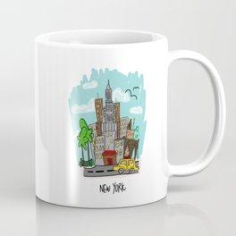 New York City, New York Coffee Mug