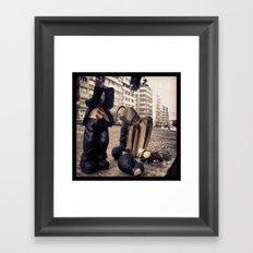 CABECITAS LOCAS Framed Art Print