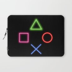 Neon Buttons Laptop Sleeve