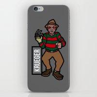 freddy krueger iPhone & iPod Skins featuring Freddy Krueger by AhamSandwich