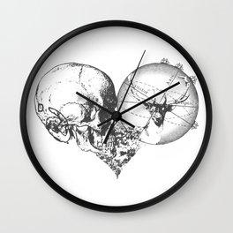 Cœur Perdu Wall Clock