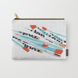 Multicolor collage Carry-All Pouch