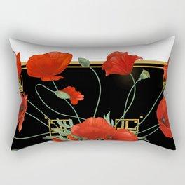 Poppy Stravaganza Rectangular Pillow