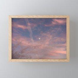 Purple-Pink Skies Framed Mini Art Print