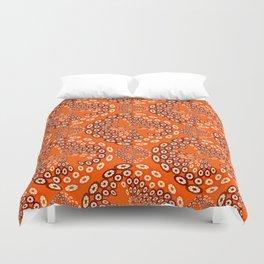 Geometric imitating floral Duvet Cover